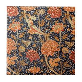 William Morris Wallpaper Cray Design Ceramic Tile