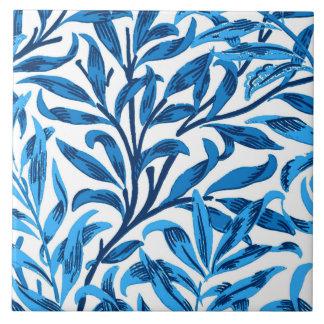 William Morris Willow Bough, Cobalt Blue & White Tile