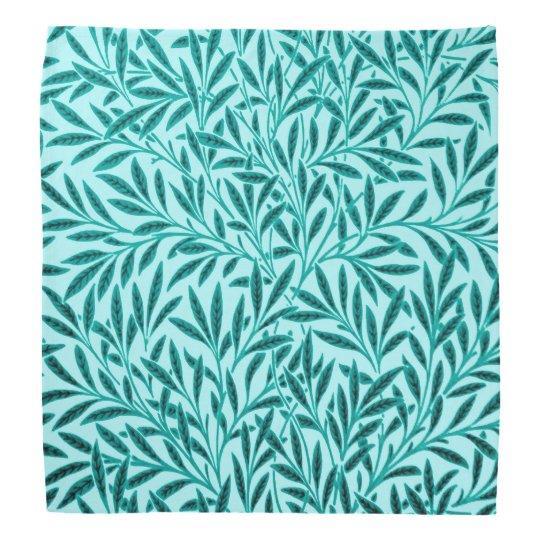 William Morris Willow Pattern, Turquoise & Aqua Bandanas