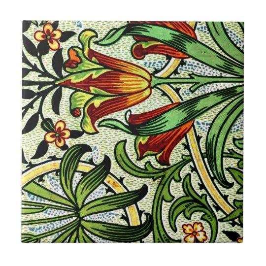 William Morris - Woodland Small Square Tile