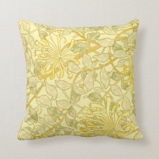 William Morris - Yellow Honeysuckle Cushion