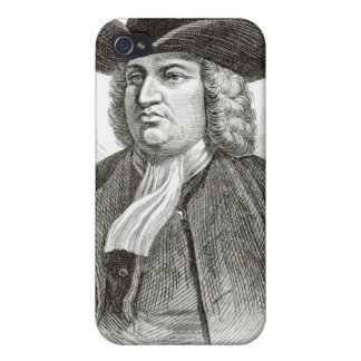 William Penn engraved by Josiah Wood Whymper iPhone 4 Cases
