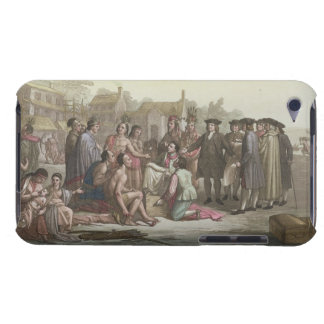 William Penn negotiating the treaty leading to the Case-Mate iPod Touch Case