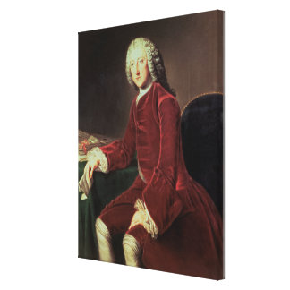 William Pitt the 'Elder', later 1st Earl of Chatha Canvas Print