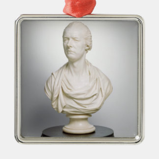 William Pitt the Younger (1759-1806) 1807 (marble) Silver-Colored Square Decoration