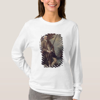 William Poyntz of Midgham and his Dog Amber T-Shirt