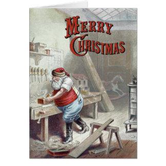 William Roger Snow  - Santa's Workshop Greeting Card