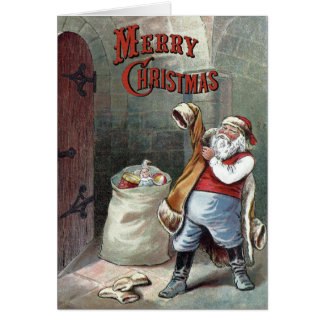 William Roger Snow  - The Night Before Christmas Greeting Card