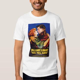 William S Hart Anna Q Nilsson Toll Gate movie Shirt