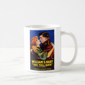 William S. Hart Toll Gate movie poster Classic White Coffee Mug