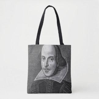 William Shakespeare 1623 Tote Bag