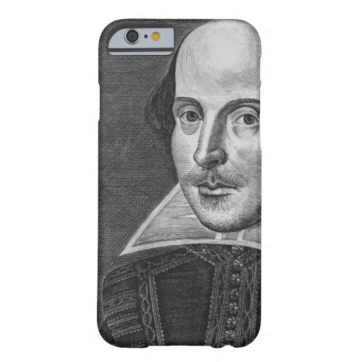 William Shakespeare iPhone 6 Case