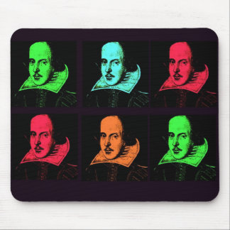 William Shakespeare Collage Mouse Mat