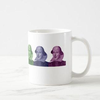 william shakespeare color mug!! coffee mug