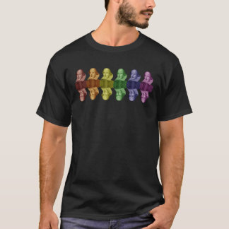 william shakespeare colors T-Shirt