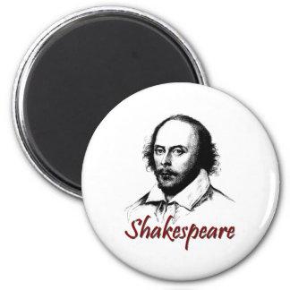 William Shakespeare Etching Magnet
