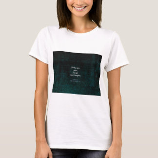 William Shakespeare Forget And Forgive Quote T-Shirt