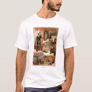 "William Shakespeare ""Hamlet"" Theatre Poster T-Shirt"