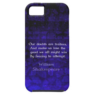 William Shakespeare Inspirational Courage Quote Case For The iPhone 5