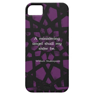 William Shakespeare Inspirational Sister Quote iPhone 5 Covers
