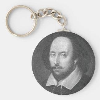William Shakespeare Key Chains