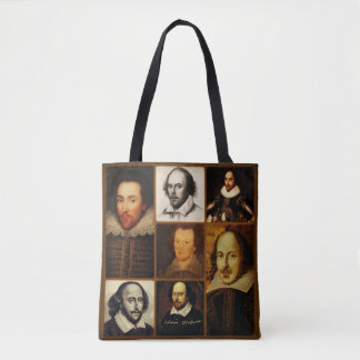 William Shakespeare Polyester Tote