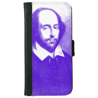 William Shakespeare Pop Art Portrait iPhone 6 Wallet Case