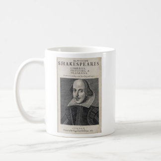 William Shakespeare Portrait Coffee Mug