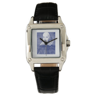 William Shakespeare Portrait First Folio Watch