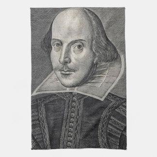 William Shakespeare Portrait Tea Towel