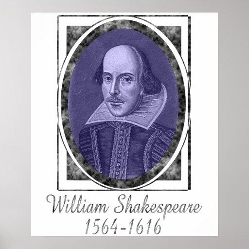 William Shakespeare Posters