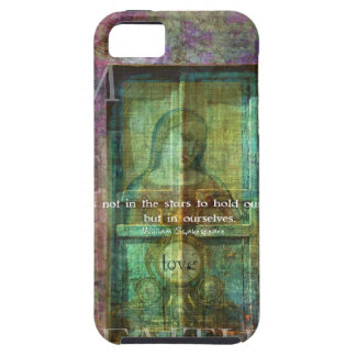 William Shakespeare quote ABOUT LOVE Tough iPhone 5 Case
