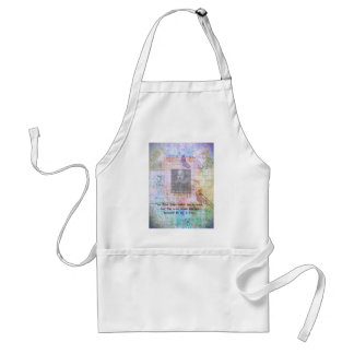 William Shakespeare quote about wisdom and fools Adult Apron