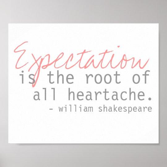 william shakespeare quote poster