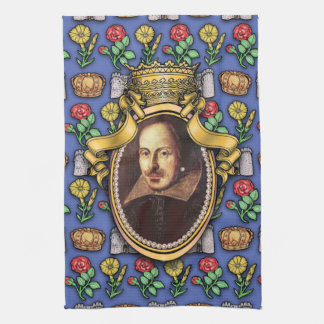 William Shakespeare Tea Towel