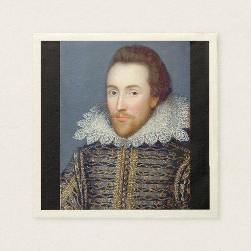 William Shakespeare Theme Paper Napkins Disposable Serviette