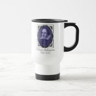 William Shakespeare Travel Mug