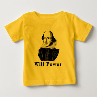 William Shakespeare WILL POWER Tshirts