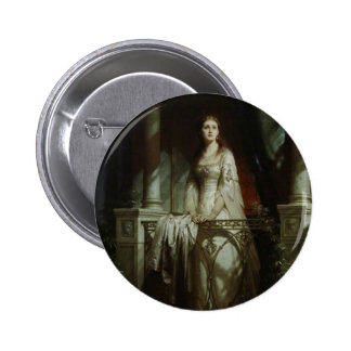 William Shakespeare's Juliet 6 Cm Round Badge