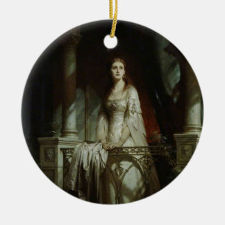 William Shakespeare's Juliet Christmas Ornament