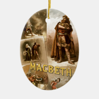 William Shakespeare's Macbeth Christmas Ornament