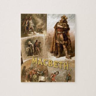 William Shakespeare's Macbeth Jigsaw Puzzle