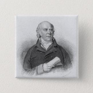 William Sharp, engraved by J. Thomson 15 Cm Square Badge