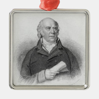 William Sharp, engraved by J. Thomson Christmas Ornament