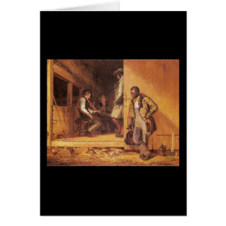 William Sidney Mount The Power Of Music Greeting Card