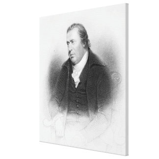 William Smellie, engraved by Henry Bryan Hall Gallery Wrapped Canvas