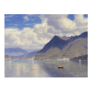 William Stanley Haseltine - Lago Maggiore Postcard