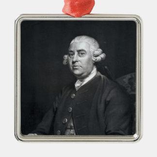 William Strahan, engraved by John Jones, 1792 Christmas Ornament