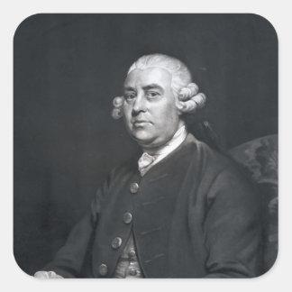 William Strahan, engraved by John Jones, 1792 Square Sticker
