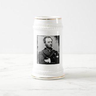 William T. Sherman Beer Stein Beer Steins